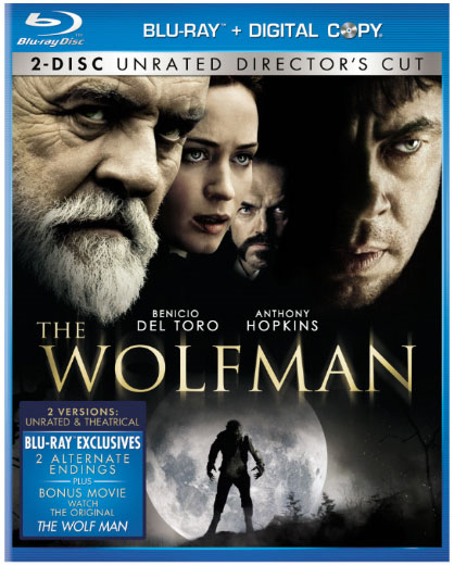 The Wolfman Blu-ray Cover Art