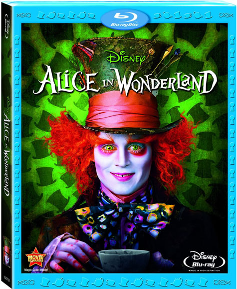 Alice in Wonderland Blu-ray Cover Art
