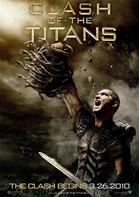 Clash of the Titans Theatrical Movie Poster