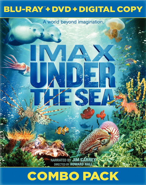 IMAX Under the Sea Blu-ray Cover Art