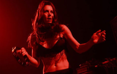 Mistress Clegg on Stage