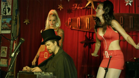 """Mistress Clegg in """"Zombie A Go Go"""" Video Shoot"""