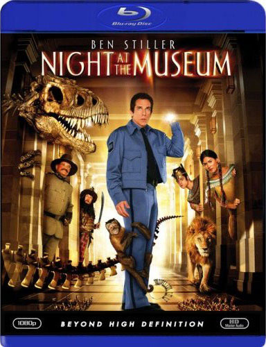 Night at the Museum Blu-ray Cover Art