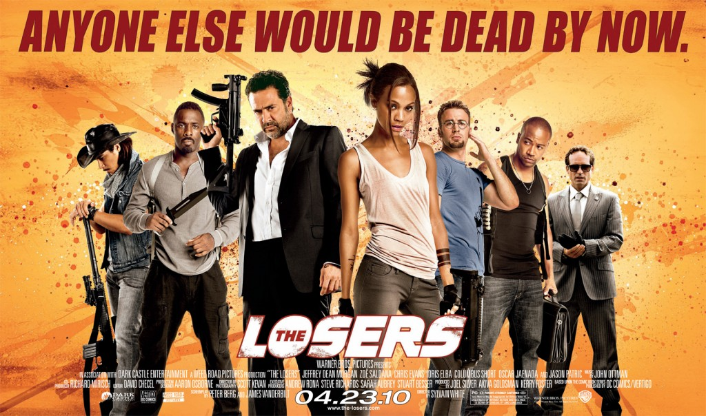 The Losers poster wide