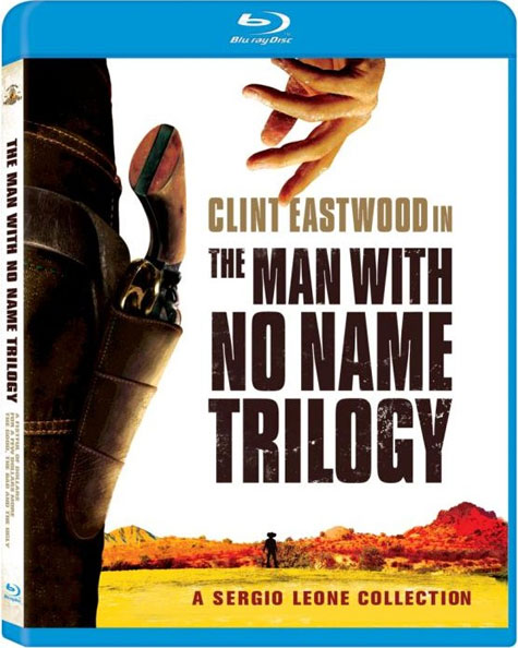 The Man With No Name Trilogy Blu-ray Cover Art