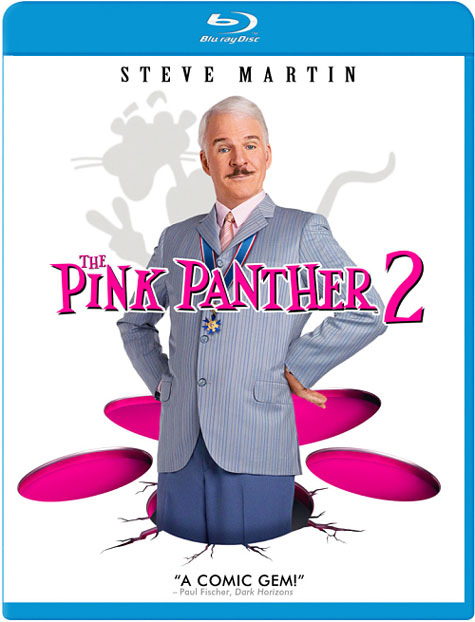 The Pink Panther 2 Blu-ray Cover Art