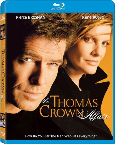 The Thomas Crown Affair Blu-ray Cover Art