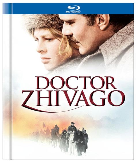 Doctor Zhivago Blu-ray Cover Art