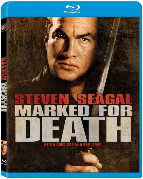 Marked For Death Blu-ray Cover Art
