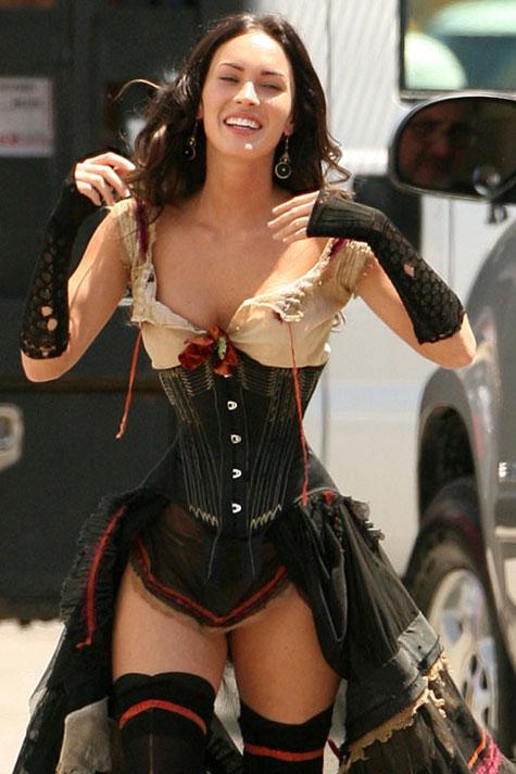 Megan Fox's Promiscuous 'Jonah Hex' Costume