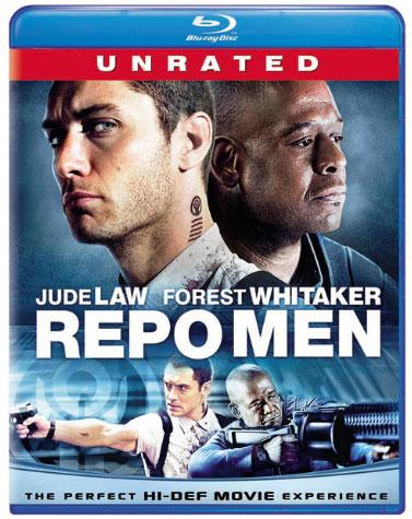 Repo Men Blu-ray Cover Art