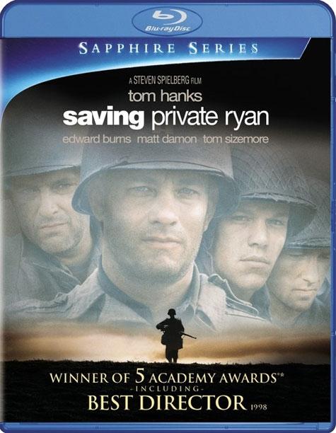 Saving Private Ryan Blu-ray Cover Art
