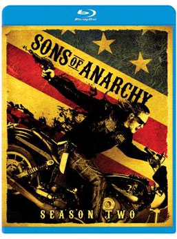 Sons of Anarchy Season 2 Blu-ray Cover Art