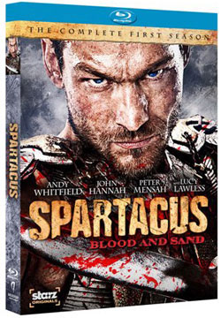 Spartacus: Blood and Sand Blu-ray Cover Art