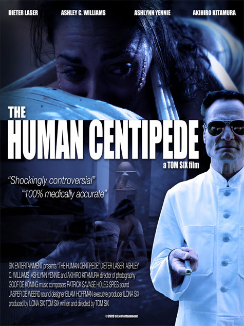 The Human Centipede Theatrical Poster