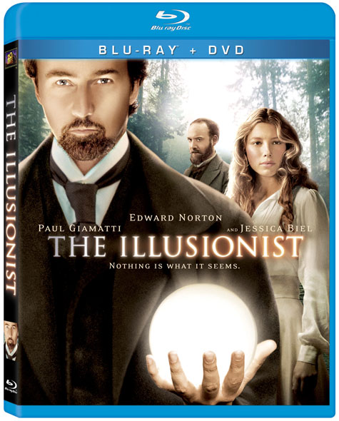 The Illusionist Blu-ray Cover Art