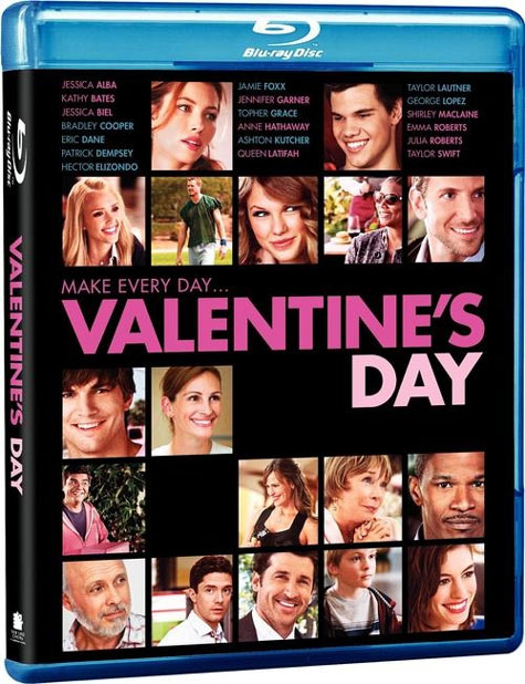 Valentine's Day Blu-ray Cover Art