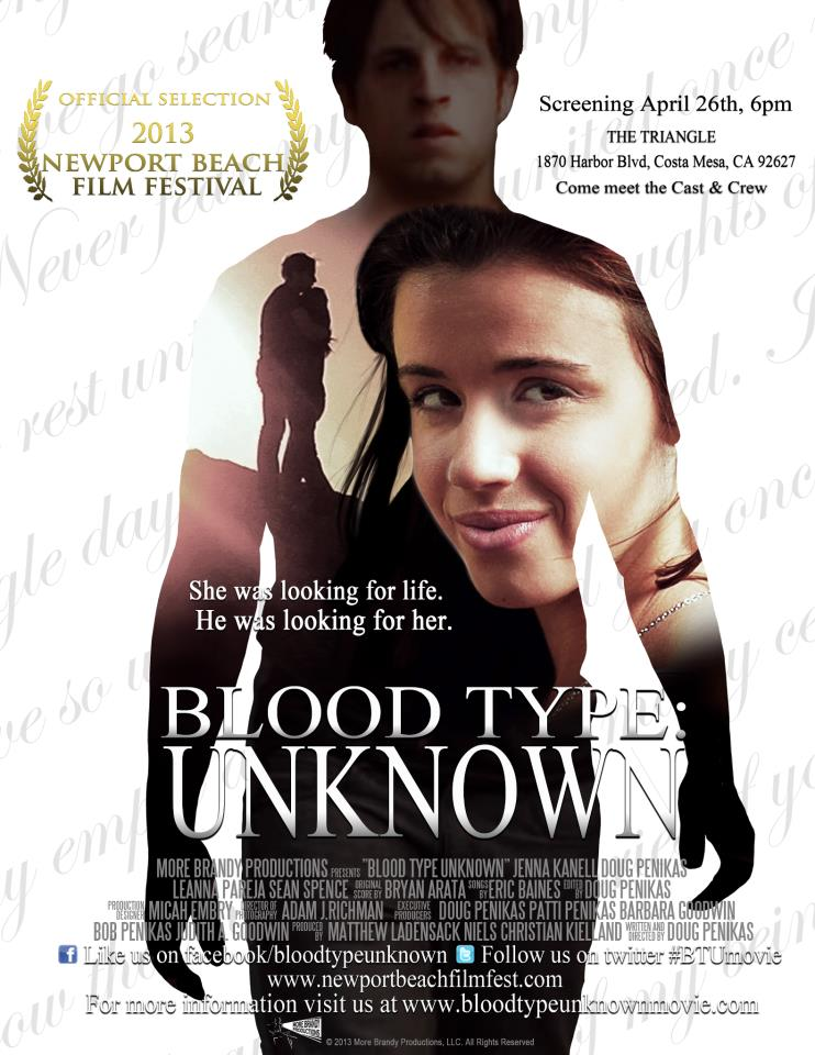 blood type unknown poster whysoblu