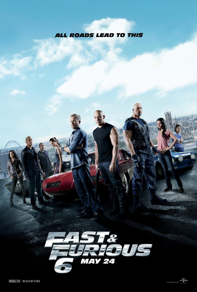 fast and furious 6 whysoblu poster