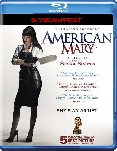 American mary Blu-ray Cover