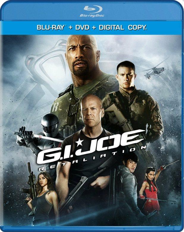 GI Joe Reatliation Blu-ray