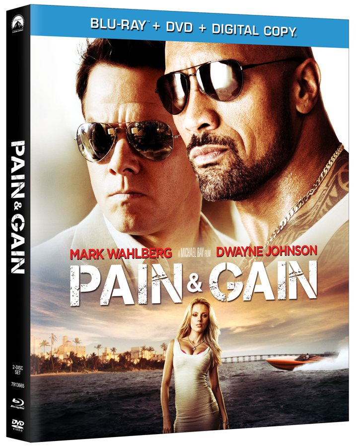Pain and Gain Blu-ray New