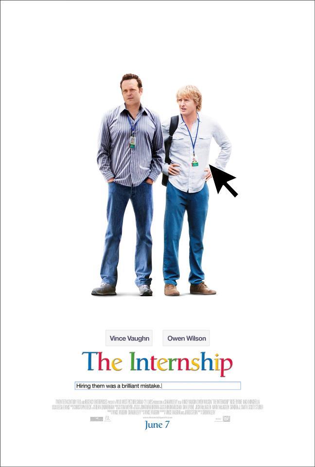 the internship whysoblu poster