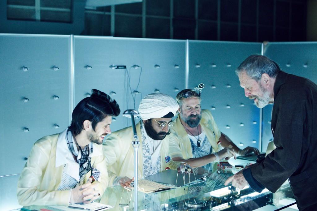 The Zero Theorem - Terry Gilliam behind the scenes BIG