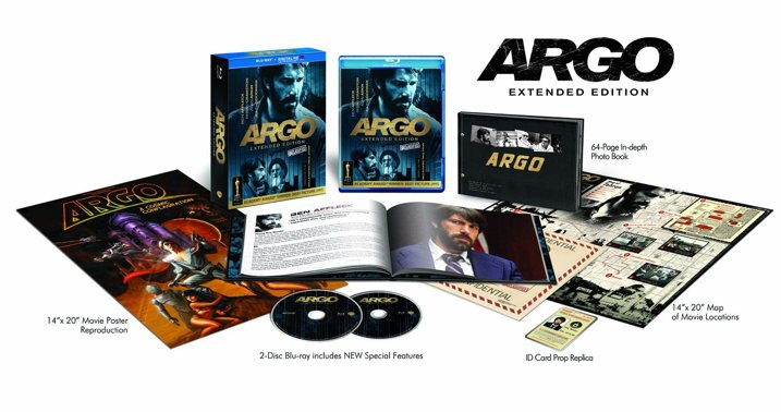 Argo Blu-ray Extended