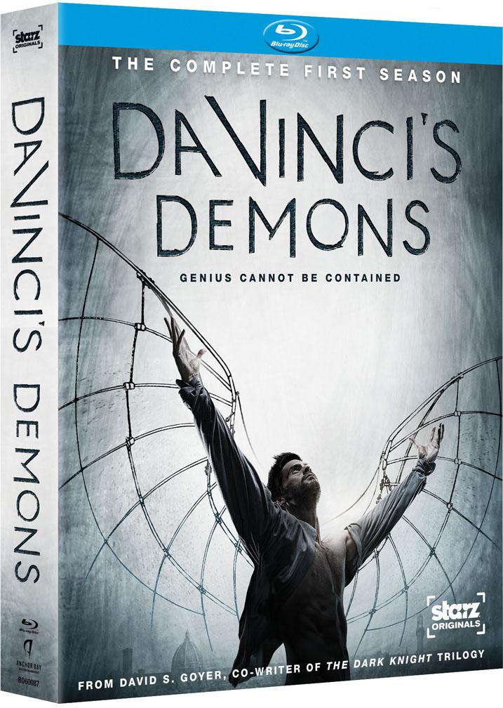 Da-Vincis'Demons-Blu-ray