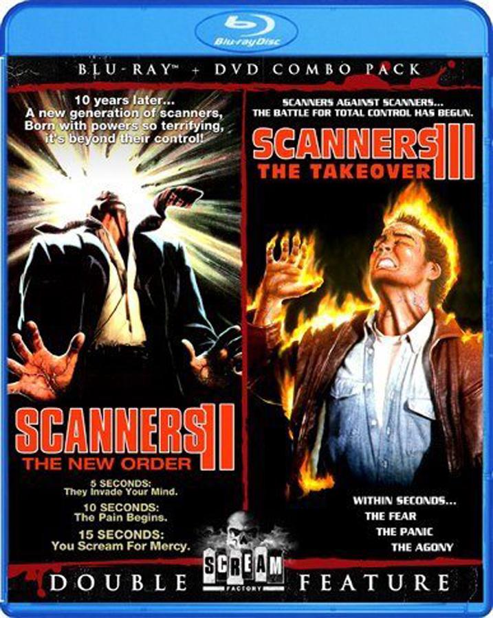Scanners II-III-Double-Feature-Blu-ray