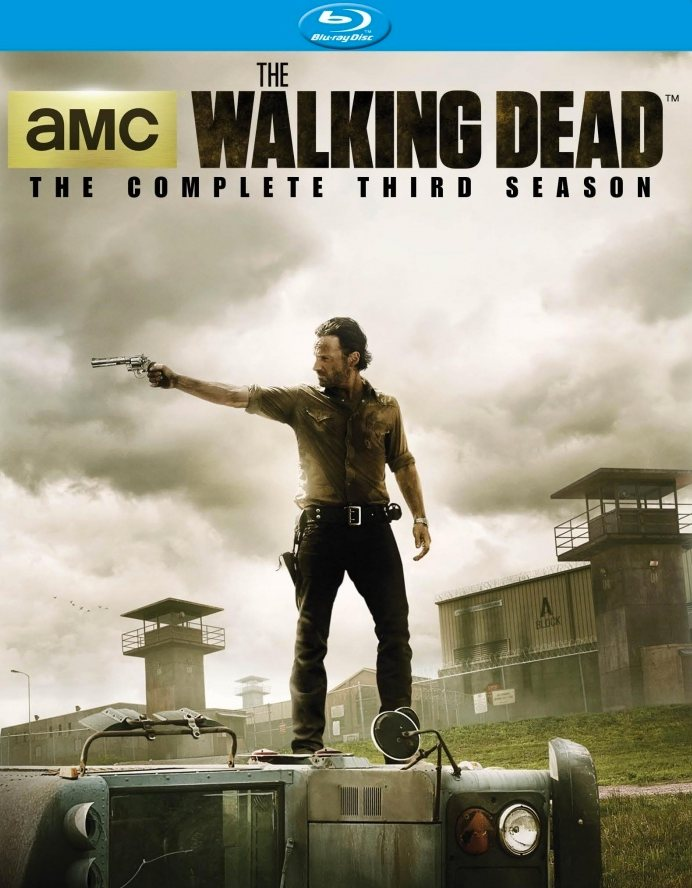 The Walking Dead Blu-ray Cover Art
