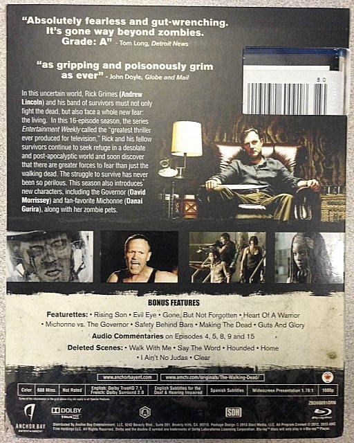 Walking Dead Blu-ray Box 2