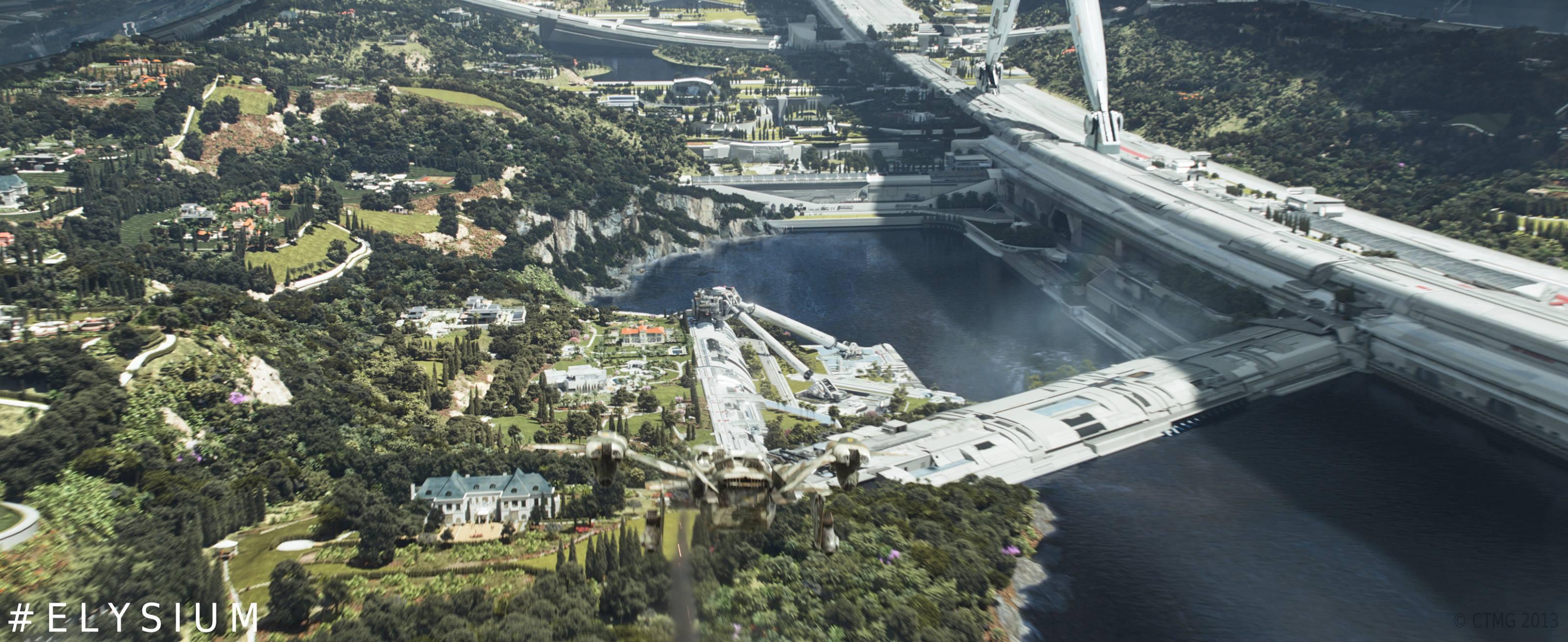 The Alien Next Door: Reaching for Elysium: Why the movie ... |Elysium Planet