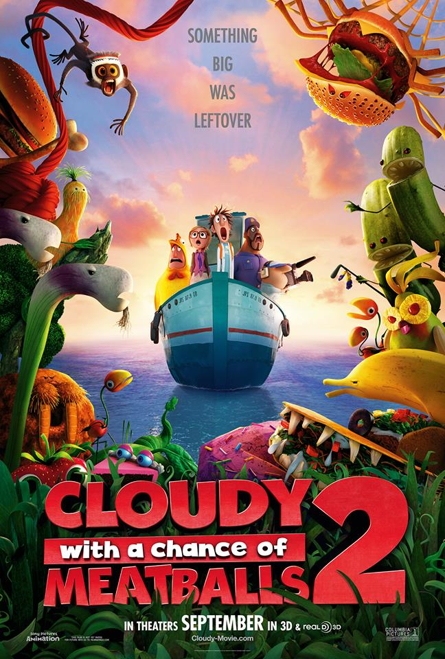 cloudy with a chance of meatballs 2 whysoblu poster