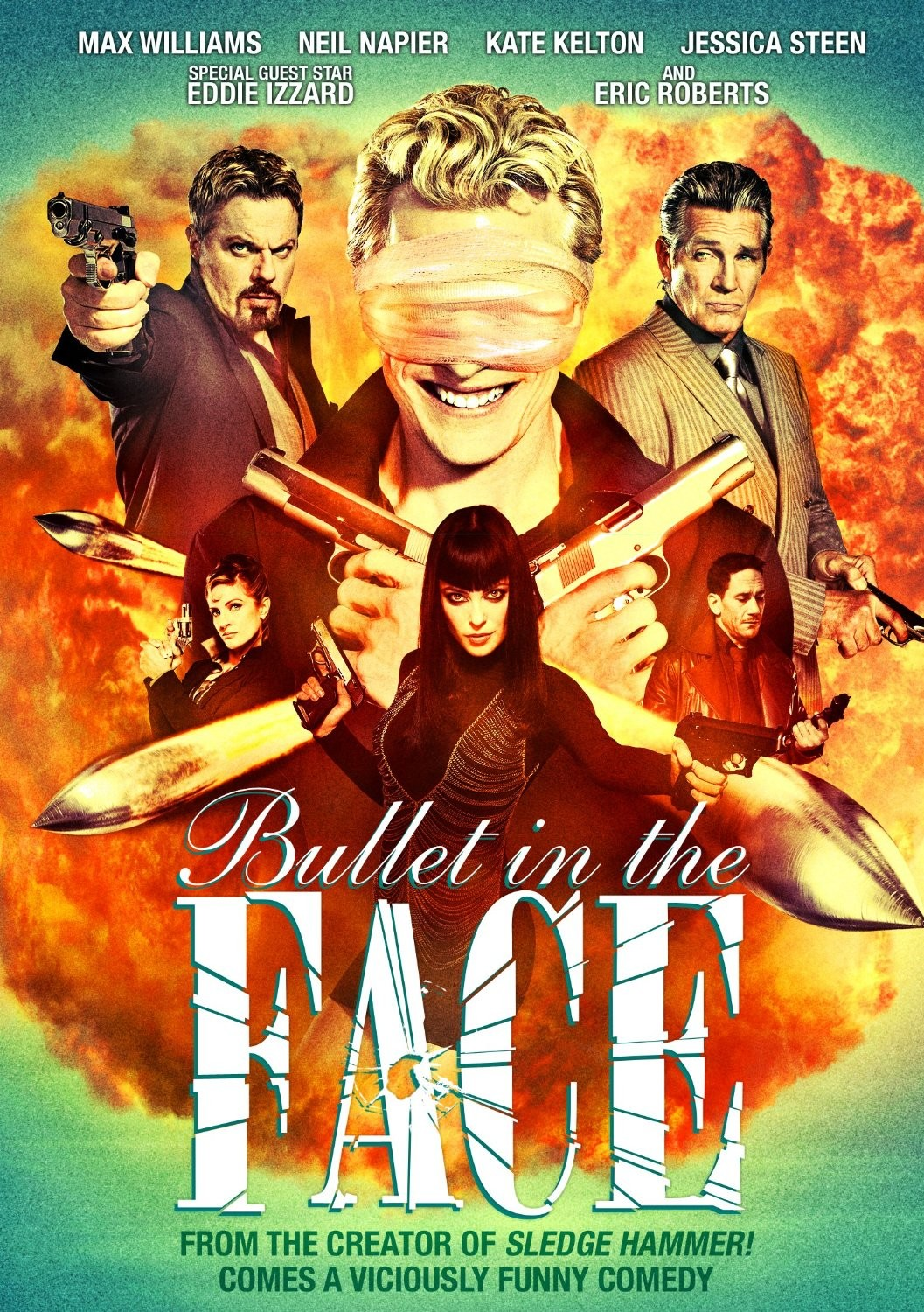 bullet to the face