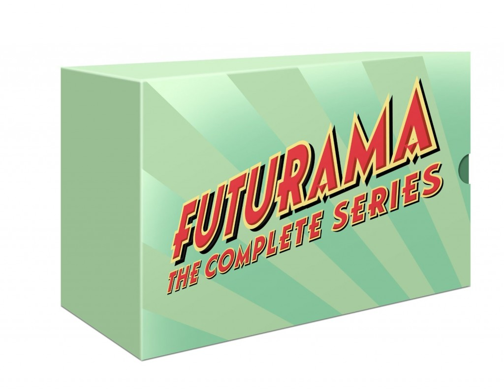 futurama complete set