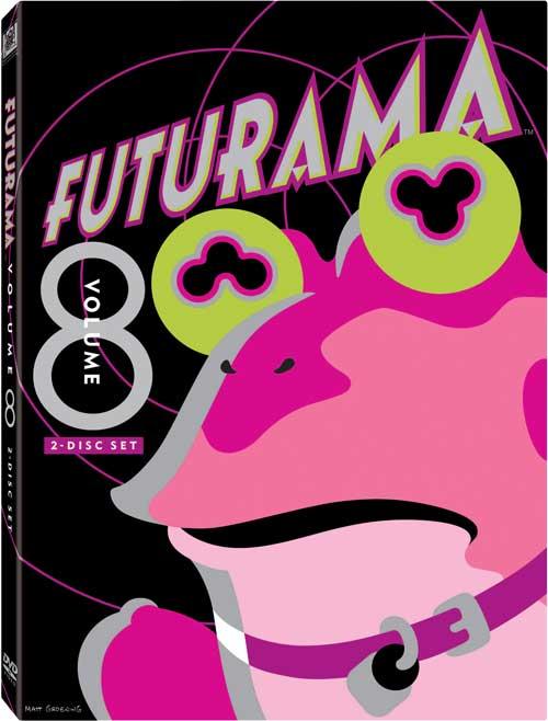 futurama s8 dvd