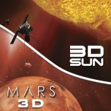 3d sun mars
