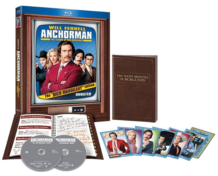 Anchorman Rich Mahogany Blu-ray