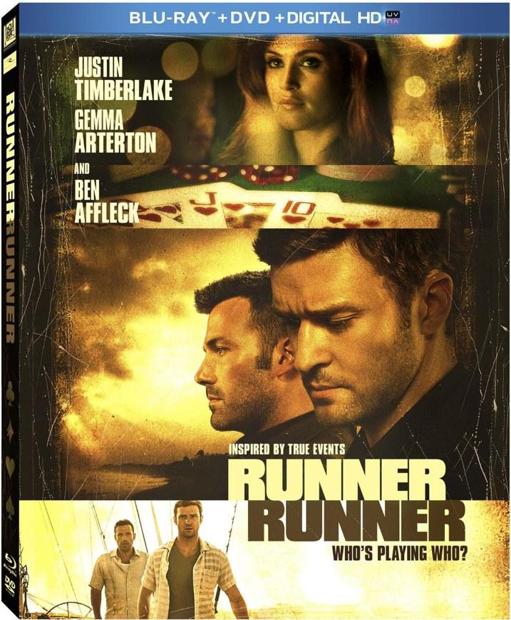 Runner Runner Blu-ray Cover