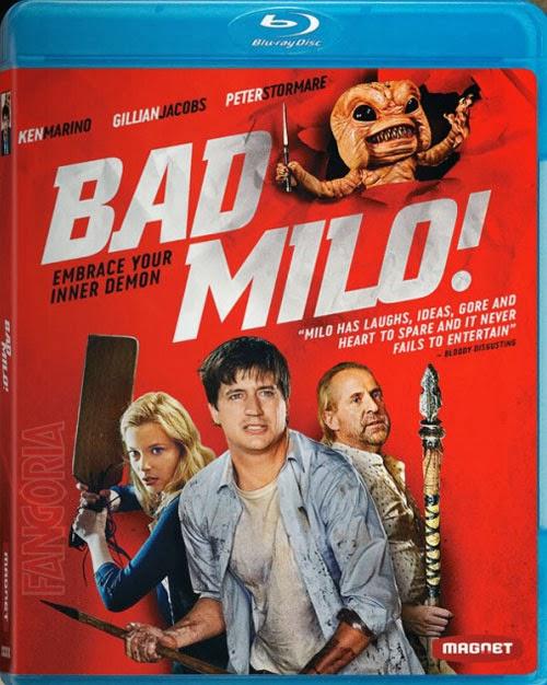 bad milo blu-ray cover