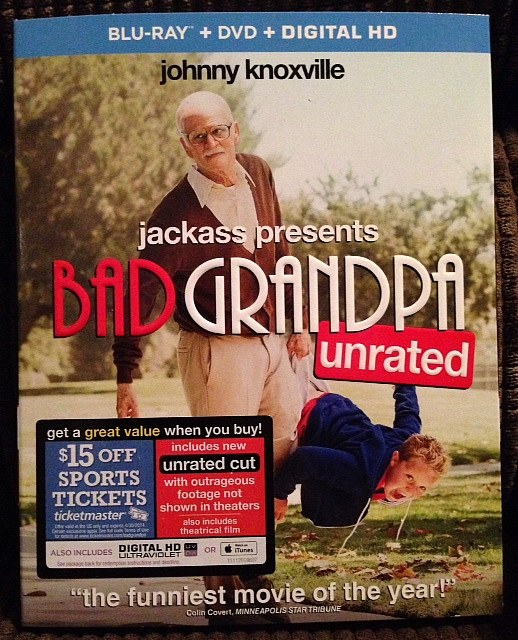 Bad Grandpa Box Art