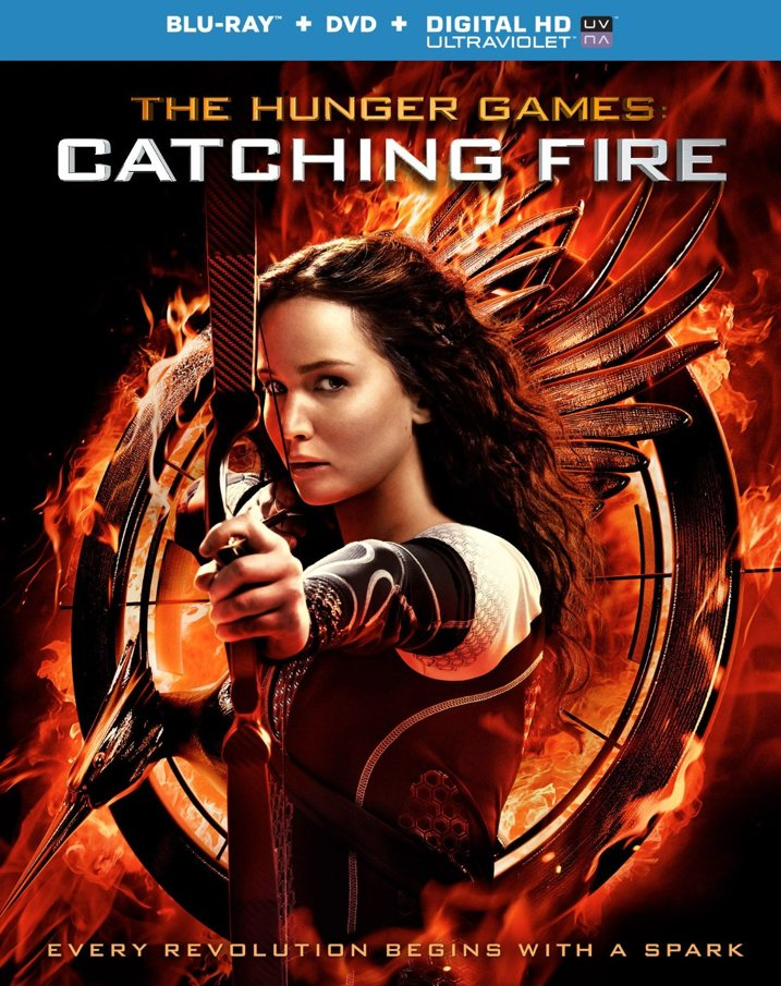 Hunger Games Catching Fire Blu-ray