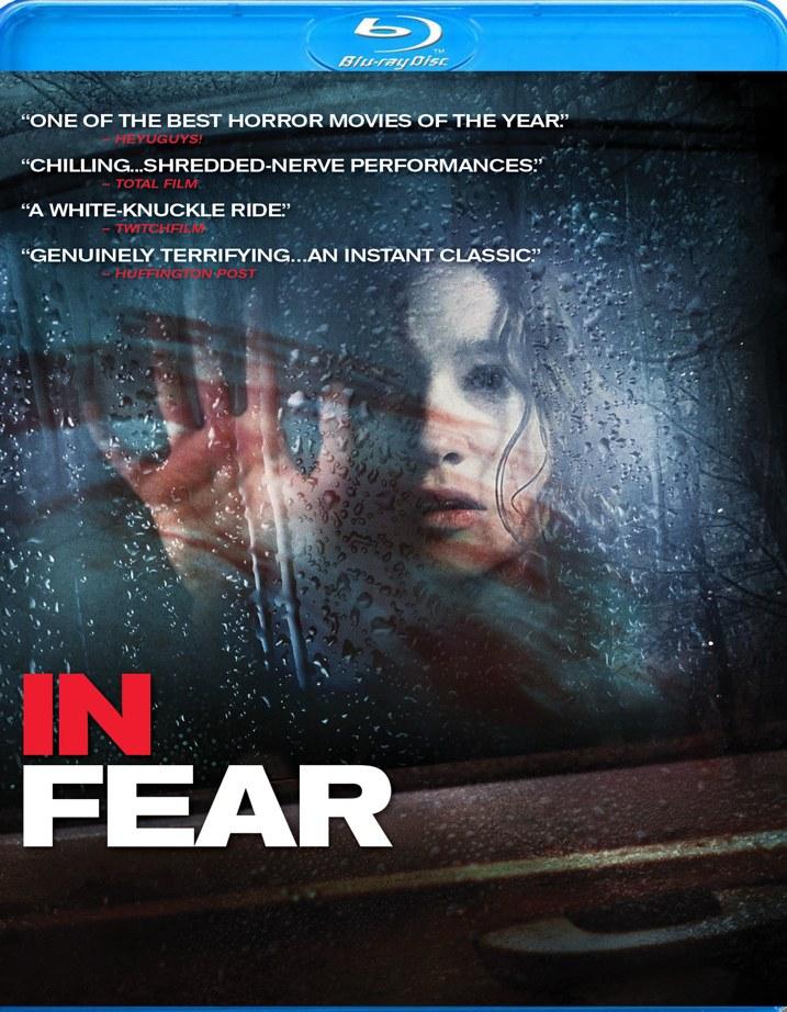 In Fear Blu-ray Cover Art