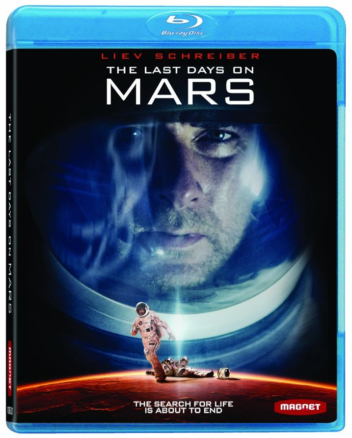 Last Day on Mars Blu-ray Cover Art