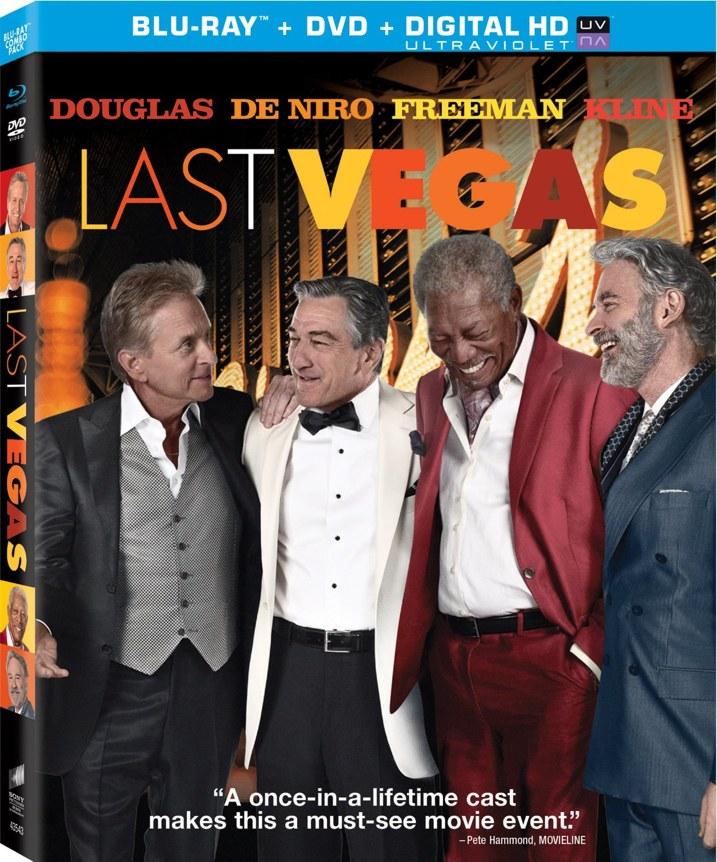 Last Vegas Blu-ray Cover