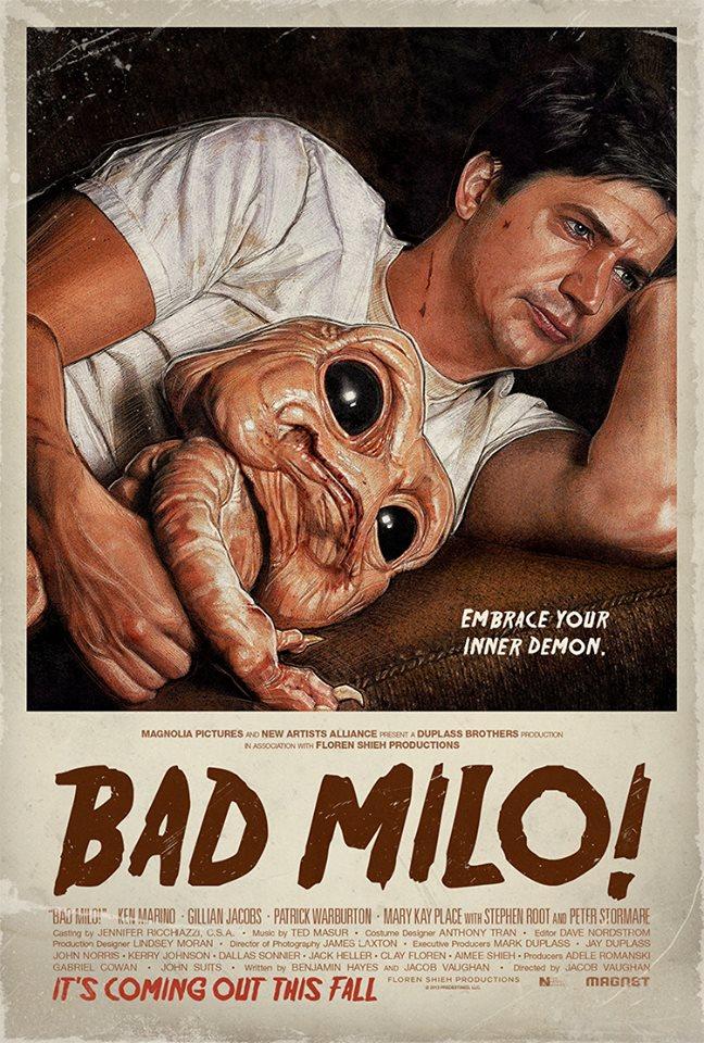 bad milo whysoblu poster