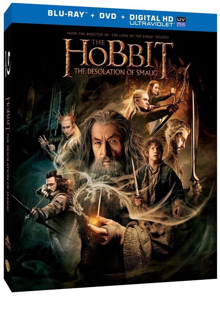 Hobbit 2 Blu-ray Cover