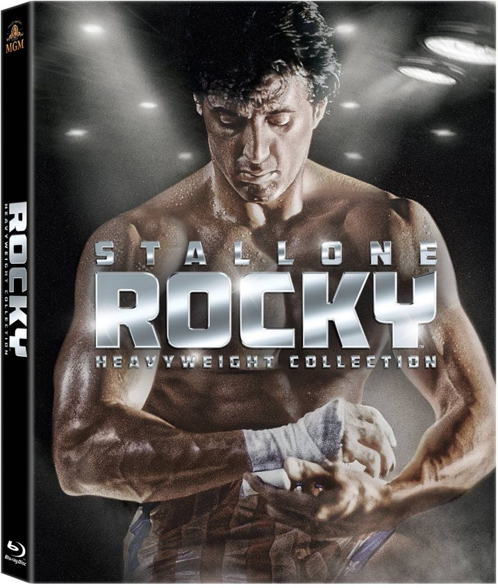 Rocky Heavyweight Collection Blu-ray Cover Art